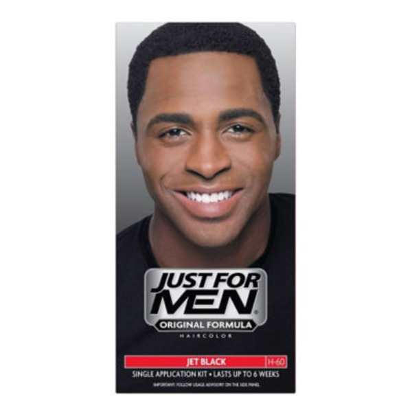 Just For Men Single Hair Color Application Kit Jet Black H-60