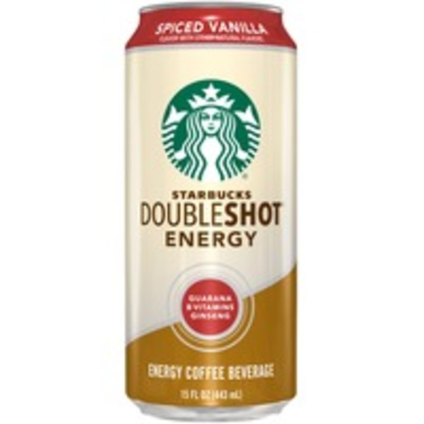 Starbucks Doubleshot Energy Spiced Vanilla Energy Coffee Beverage