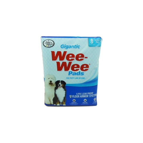 Four Paws Wee Wee Pads Gigantic Puppy Housebreaking Pads