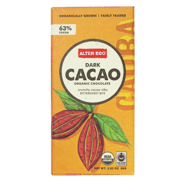Alter Eco Dark Cacao Organic Chocolate