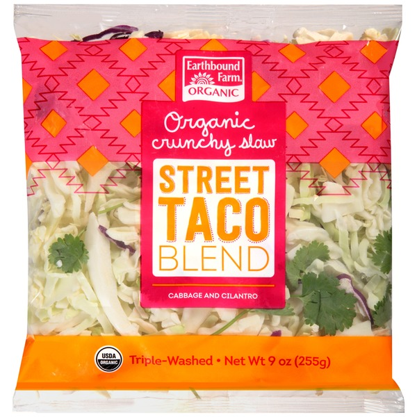 Earthbound Farm Organic Crunchy Street Taco Slaw Blend