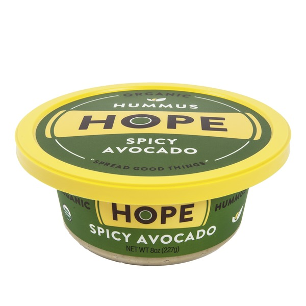 Hope Foods Spicy Avocado Hummus