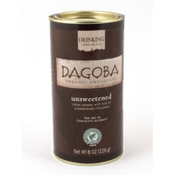 Dagoba Organic Baking Cocoa Ft 8 Oz