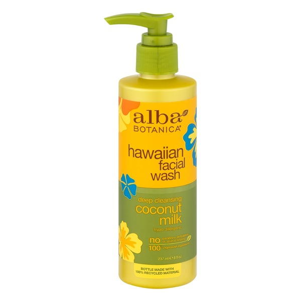 Alba Botanica Natural Hawaiian Facial Wash Coconut Milk