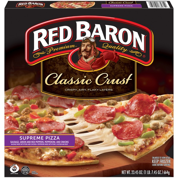 Red Baron Classic Crust Supreme Pizza