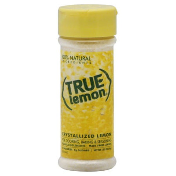 True Lemon Crystallized Lemon
