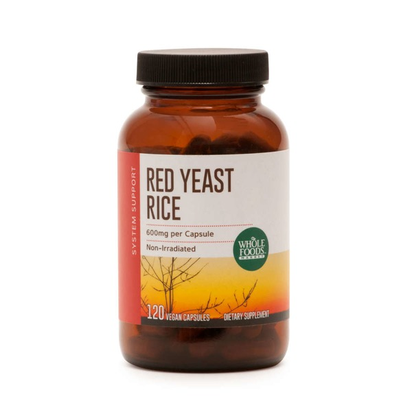 Whole Foods Market Red Yeast Rice 600mg
