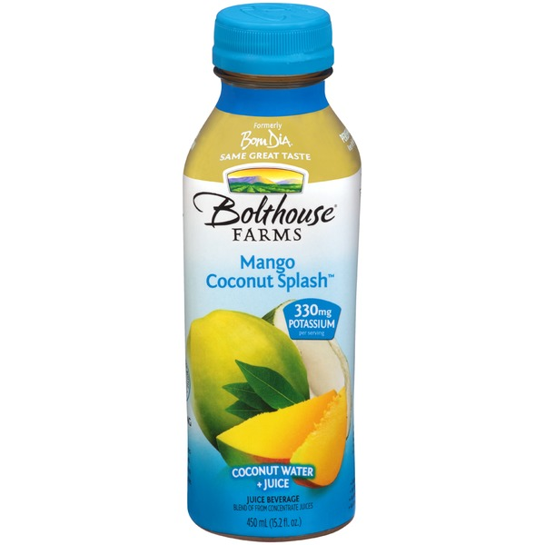 Bolthouse Farms Mango Coconut Splash Juice Beverage