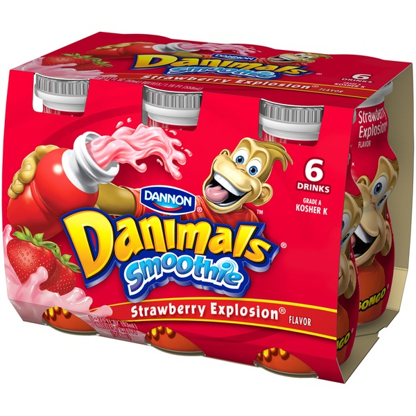 Danimals Strawberry Smoothie