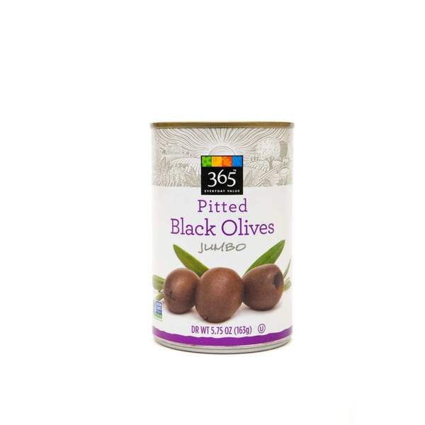 365 Ripe Jumbo Pitted Olives