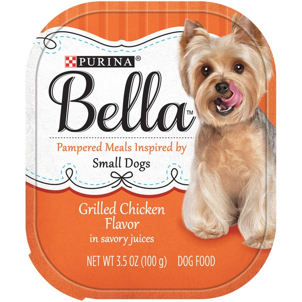 Bellas Grilled Chicken Flavor in Savory Juices Dog Food