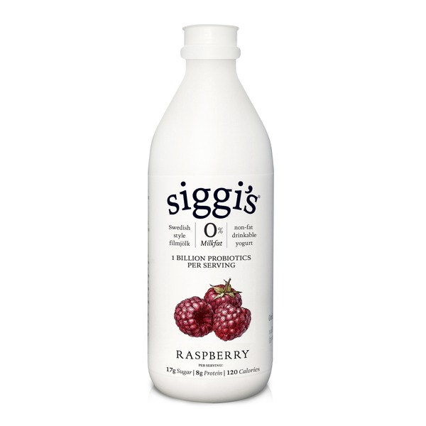 Siggi's Raspberry Filmjolk Non-Fat Drinkable Yogurt