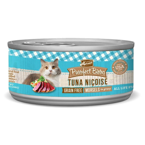 Merrick Purrfect Bistro Grain Free Tuna Nicoise Canned Cat Food