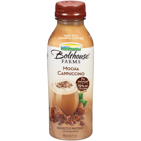 Bolthouse Farms Perfectly Protein Mocha Cappuccino Coffee Beverage