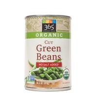 365 Organic Cut No Salt Added Green Beans