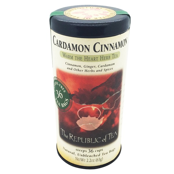 The Republic of Tea Cardamon Cinnamon Tea Bags