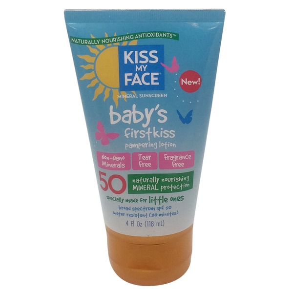 Kiss My Face Baby's Mineral Lotion Spf 50