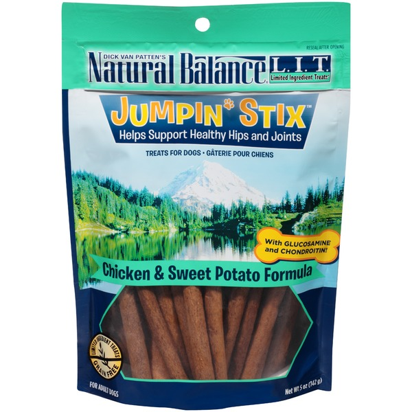 Natural Balance Jumpin' Stix Chicken & Sweet Potato Formula Dog Treats