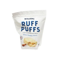 Buckley's Dog Treats, Light & Crunchy, White Cheddar Flavor
