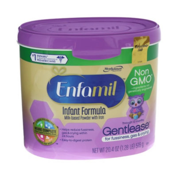 Enfamil Infant Gentlease Milk-based Powder with Iron Infant Formula