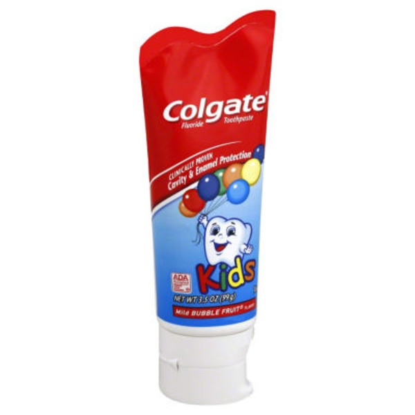 Colgate Kids Mild Bubble Fruit Toothpaste