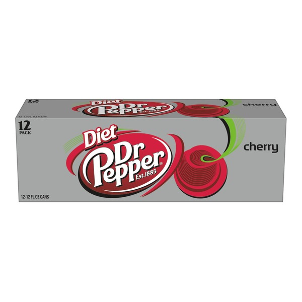 Dr. Pepper Diet Cherry Soda
