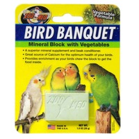 Zoo Med Vegetable Bird Banquet Block Small