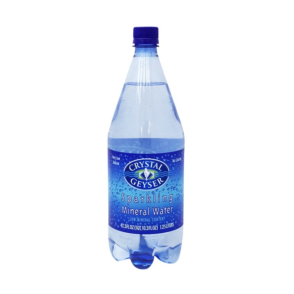 Crystal Geyser Sparkling Mineral Water