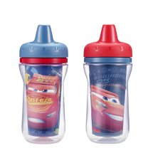 The First Years Disney Pixar Insulated Hard Spout Sippy Cup - Cars 3, 2 pack