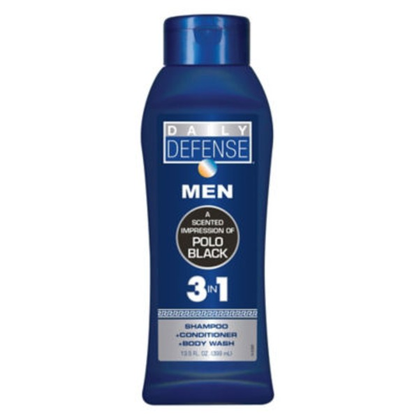 Daily Defense Men 3 In 1 Impression Of Polo Black Body Wash