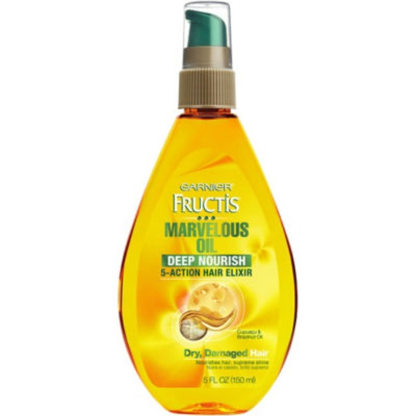 Fructis® For Dry, Damaged Hair Marvelous Oil Deep Nourish 5-Action Hair Elixir