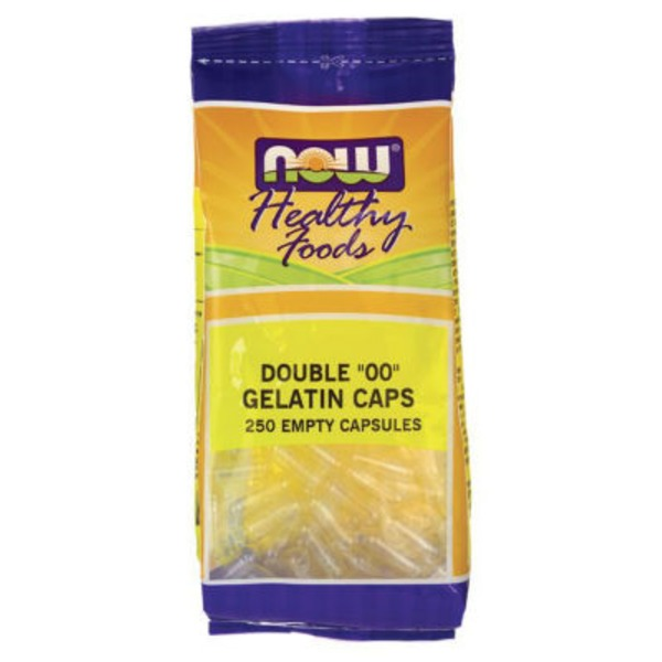 Now Double & Empty Gelatin Caps