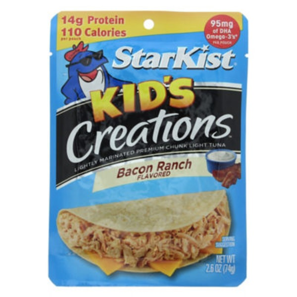StarKist Kid's Creations Bacon Ranch Flavored Tuna