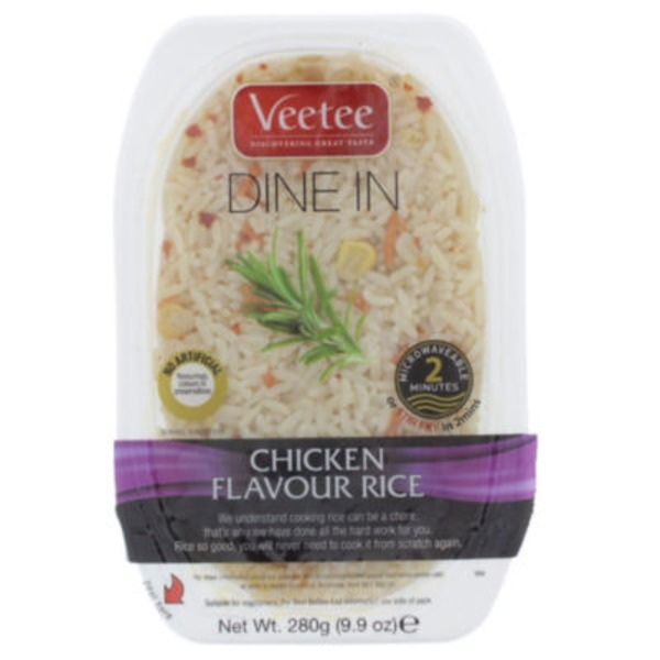 Veetee Chicken Flavor Rice Microwave
