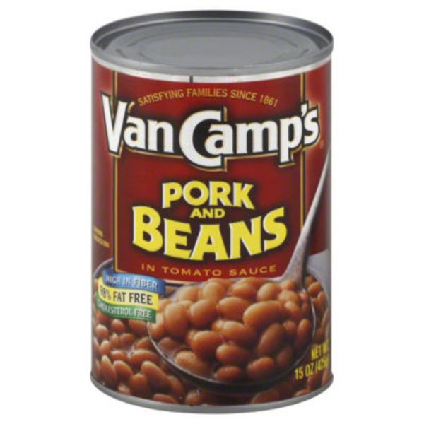 VanCamp's In Tomato Sauce Pork & Beans