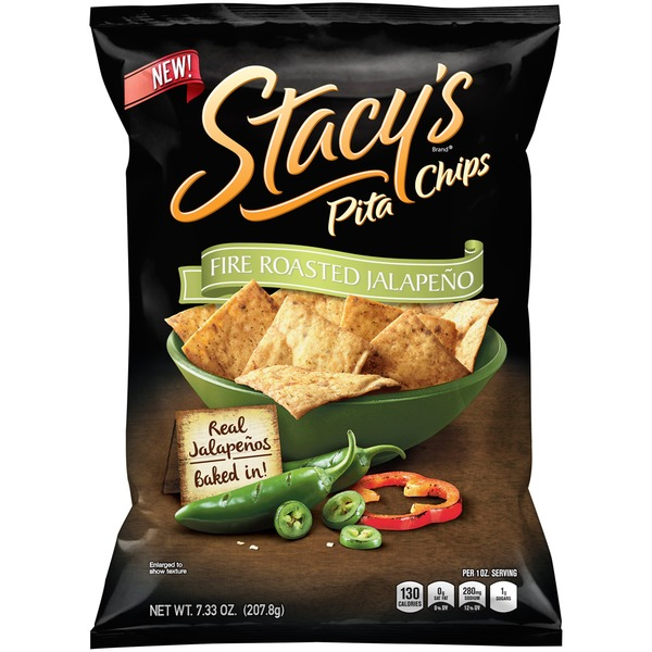 Stacy's Fire Roasted Jalapeño Pita Chips