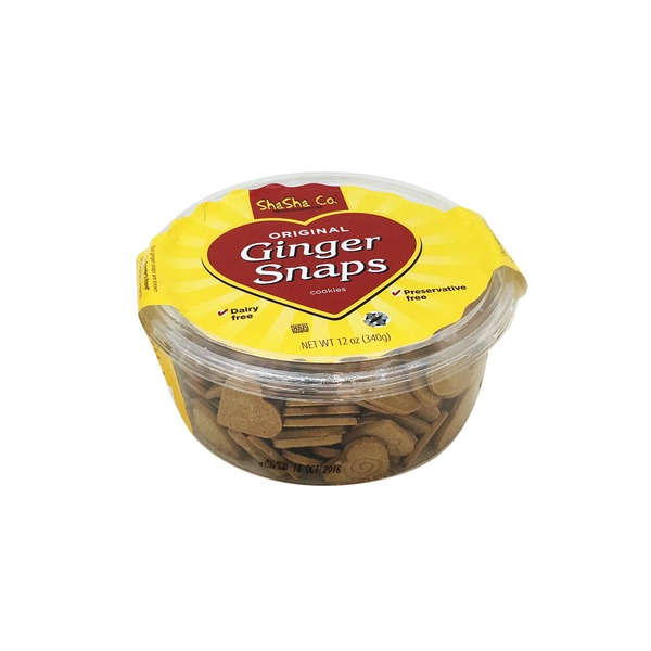 ShaSha Co. Ginger Snaps, Original