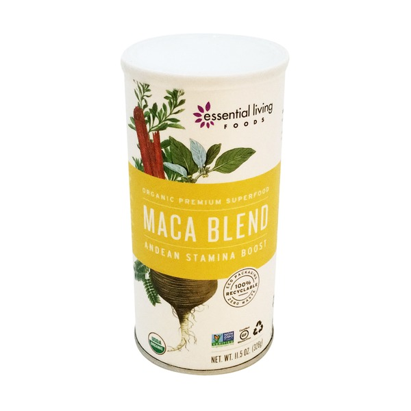 Essential Living Foods Raw Maca Blend