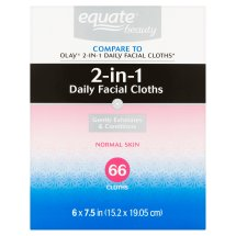 Equate Hydrating Cloths Everyday Facial 60 Ct