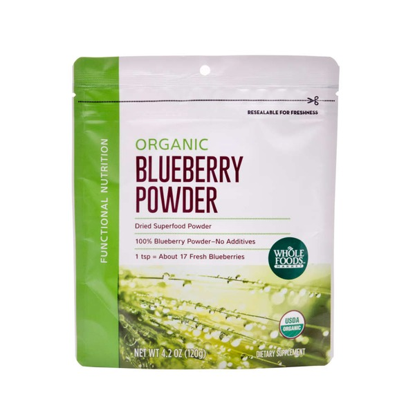 Whole Foods Market Organic Blueberry Powder