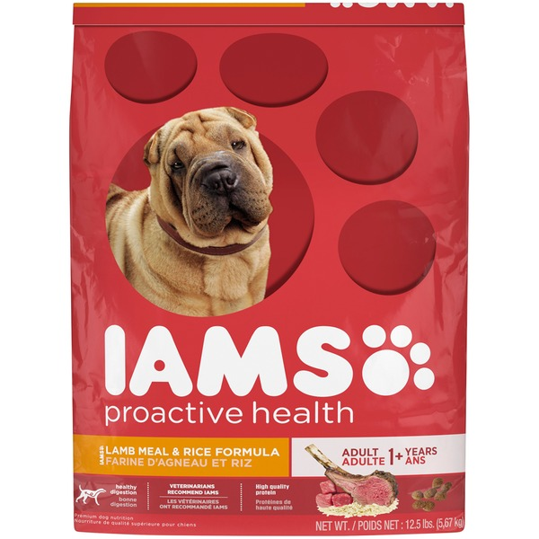 Iams Proactive Health with Grass-Fed Lamb Adult Dog Food