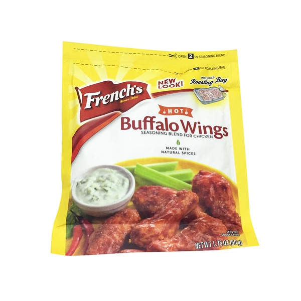 French's Hot Buffalo Wings Seasoning Mix