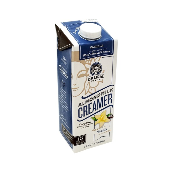 Califia Farms Almondmilk Creamer, Vanilla