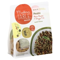 Modern Table Meals Pesto Bean & Vegetable Kit, Lentil Penne
