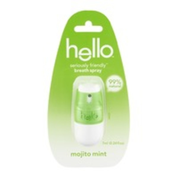 Hello Seriously Friendly Breath Spray Mojito Mint