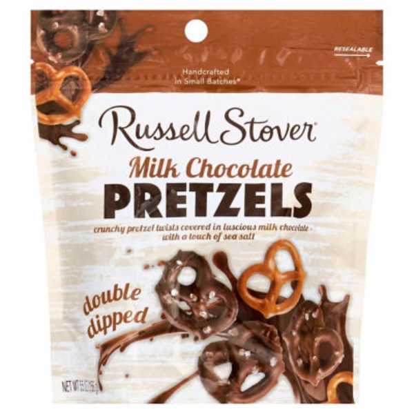 Russell Stover Pretzels Milk Chocolate