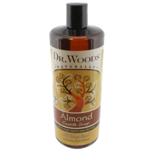 Dr. Woods Soaps Pure Almond Liquid Castile Soap