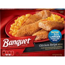 Banquet Chicken Strips Meal, 8.9 Ounce