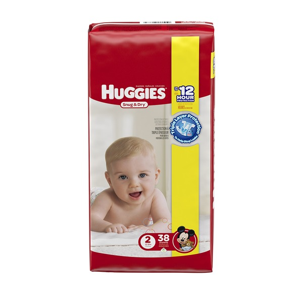 Huggies Snug & Dry Size 2 Diapers