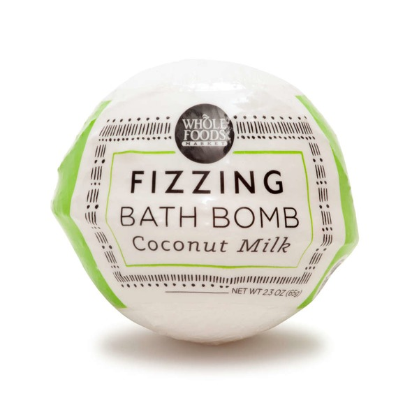 Whole Foods Market Fizz Bathbomb Coconut Milk